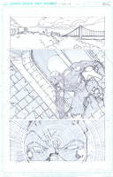 Daredevil Marvel Sample Page 1 by aminamat