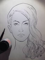 Ink Study - Lana Del Rey by aminamat
