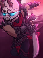 Blood Moon Shen by GalacticTitty