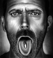 Hugh Laurie - Dr. House by HarryMichael