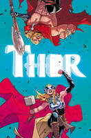 Thor #4 cover by RDauterman