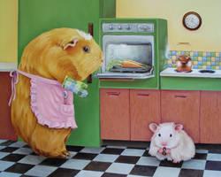 In Zoe's Kitchen by johannachambers