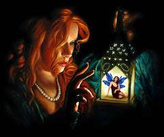Lantern Fairy by johannachambers