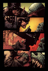 Dark Knight by Finch, AGAIN! - Color by Malkamok