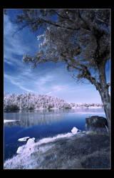 .:infrared : silent morning:. by hirmawan