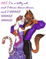 Kitty Cat Dance by Adm-James