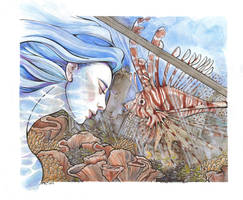 Reflecting on Atlantis by Adm-James