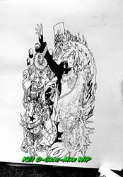 Allen Walker D-Gray-Man WIP by Ore-Sama-KEI
