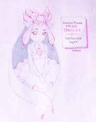 Inktober day 4: Diamond Princess: Mega Diance by pequechip