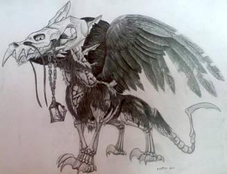 Did someone said death? by IndigoD3stiny