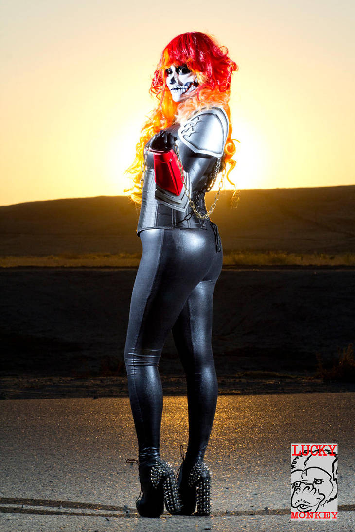 Alejandra the Ghost Rider by Pokypandas
