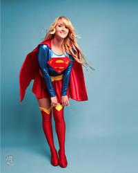 Pin Up Supergirl by Pokypandas