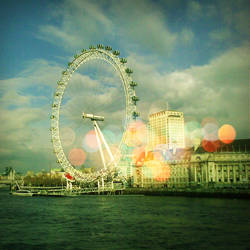 london eye by yellougreenandbloo
