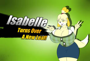 Isabelle Joins The Battle! by FluffyEevee40