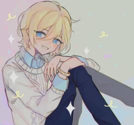 Happy birthday Eichi by Ferocious-bite