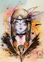 raven heart by LucyAnori