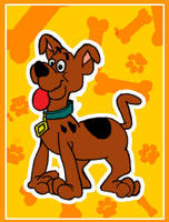 A pup named Scooby-Doo by sisoko-chan