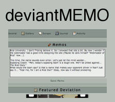 deviantMEMO by NekoDramon