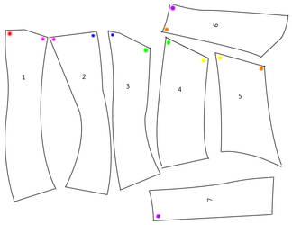 Neck Corset Pattern by PixieAlchemi