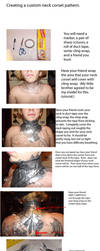 Tutorial: creating a custom neck corset pattern by PixieAlchemi