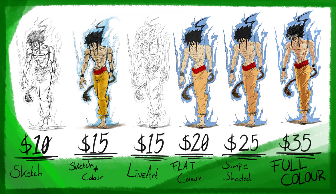 .:Commission Price List:. by RageVX