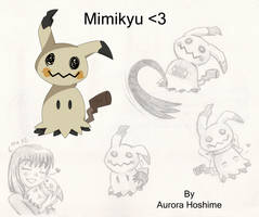 Adorable Mimikyu's reference X3 by FairyAurora