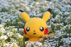 Pikachu Amigurumi by kurenemuu