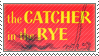 STAMP - The Catcher in the Rye by AniWhichWay