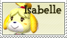 STAMP - Isabelle (Animal Crossing) by AniWhichWay