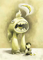 Mono-Monster by arbitrary-art