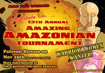 Amazing Amazonian Tournament, Nov 16th by Lurkergg