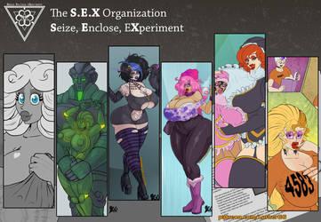 The S.E.X Organization Files 2018 by Lurkergg