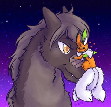 Wanders first friend by KikiLime