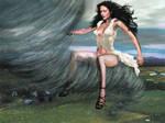 CZJ Rides a Tornado by Pixel-Slinger