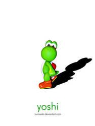 Yoshi by kurosakii