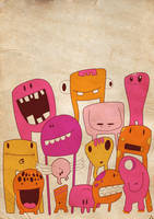 Sweet Monters ORIGINALLE by Poof2507