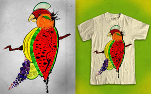 Tutti Frutti Bird by Poof2507