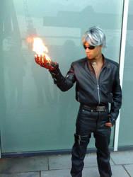 The Burning Rage of K' by WarriorMisanthrope