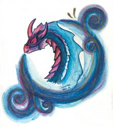 Art Trade Dragon by Traue-Niemand