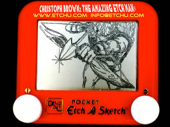 Green Arrow Etch A Sketch by EtchUProductions