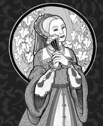 Tudor Lady No.2 by rinaswan