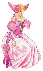Lavender Lady by rinaswan