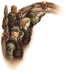 Stargate SG1 by HitoStargate