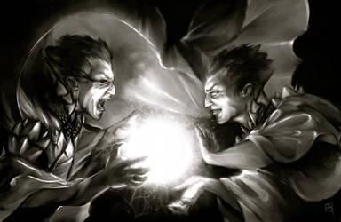 Evil Twin by fightingfailure