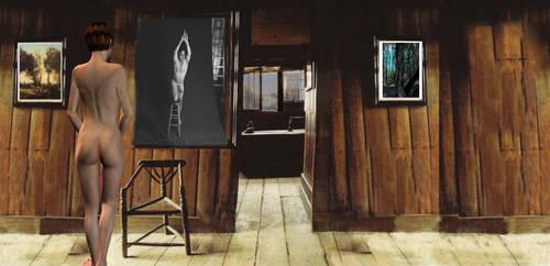 une salle sereine avec .... by artin2007