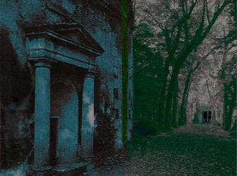 Gothic Park Ghost by artin2007