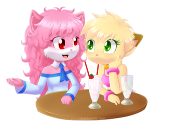 Commission: Annie y April by VaultsD