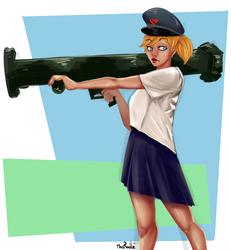 Bazooka by TheRailz-Art