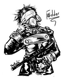 Fodder by TheRailz-Art