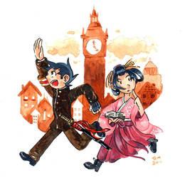 An Adventure in London by vanilliacoke